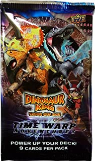 Dinosaur King Trading Card Game Series 6 Time Warp Adventures Booster Pack