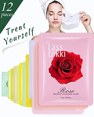 Face Mask Lasstokki Korean Crinum Lily Essence Facial Mask