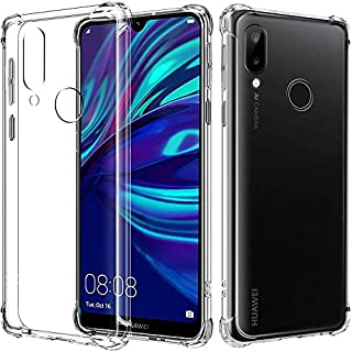 Anti-shock Transparent Case Clear For Case For Case For Case For Case For Huawei Y7P 2020 - Clear