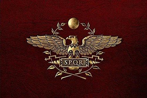 Roman Empire Senat und Volk von Rom Flagge Banner 3'x5'