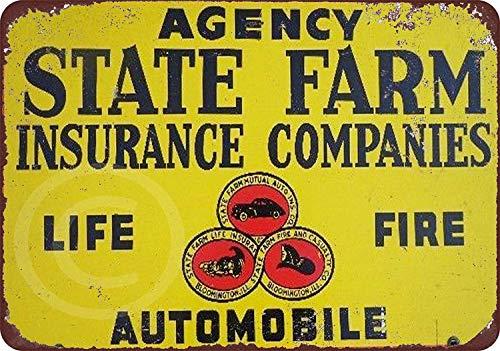 Fireworksss Farm Insurance Companies Vintage Look...