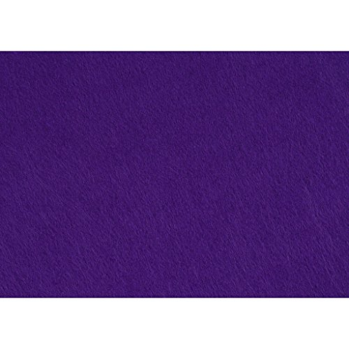 Creativ Company Artisanat feutre, 21x30 cm, 10 feuilles pourpre