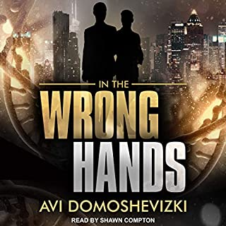 In the Wrong Hands audiobook cover art