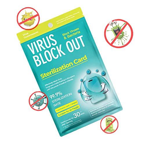 空気清浄機保護カード首吊り消毒カードスペース消毒カード巾着空気浄化カードキッズ大人向けヘルスケア