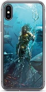 James Aquaman Momoa Superhero The King Anti-Scratch Clear Case Case for iPhone 6 Plus/6s Plus