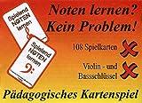 Hofmeister, Friedrich Kartenspiel Spielend -Noten Lernen: Violin- und Bassschlüssel