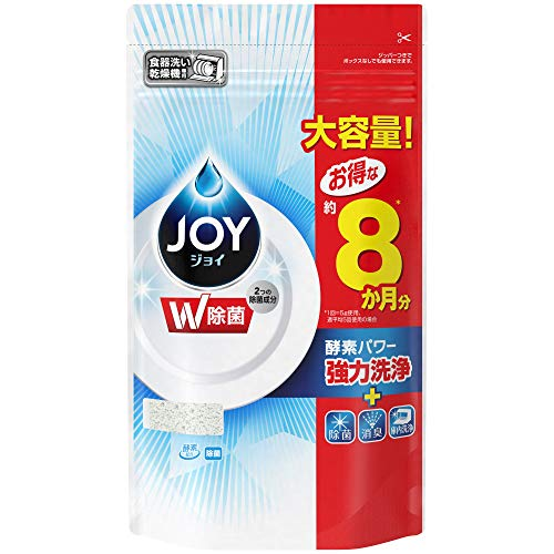ジョイ 食洗機用洗剤 除菌 詰め替え 特大 930g