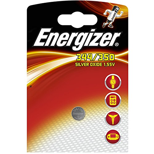 Energizer 344/350 344 SR42 SR1136SW pila de reloj de óxido de baja...