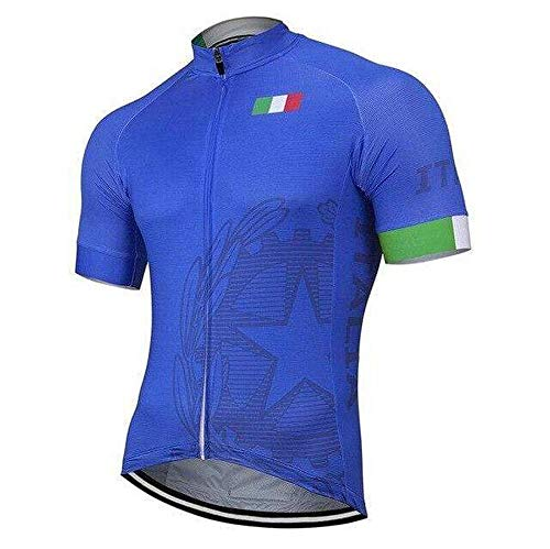 Sly Sun - Country Jerseys - Love Your Country! Cycling Jerseys & Sets Collection - Team Italy Men's Cycling Jersey & Shorts Set - Jersey Only - L