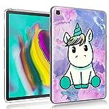 ZhuoFan Funda para Samsung Galaxy Tab A7 2020, Case Carcasa Silicona Gel TPU...