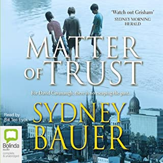 Matter of Trust audiobook cover art