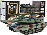 BSD RC Ferngesteuertes Panzer Leopard 2 A6 Mit Rauch 2.4 Ghz 1:24