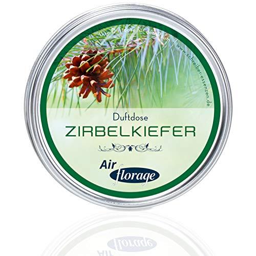 Florage Raumduft ZIRBELKIEFER Duftdose Duftöl Duftgel Aroma Lufterfrischer - Schonende Alternative zu Duftkerzen und Diffusoren