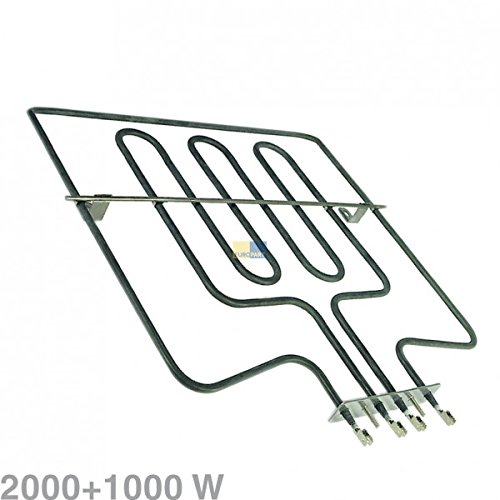 Heizelement Backofen Oberhitze/Grill 2000 + 1000 Watt- 357033701