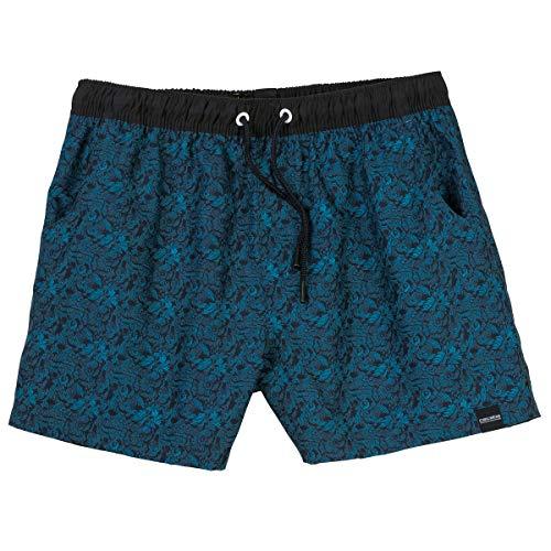 Ceceba Kurze Badeshorts Allovermuster blau Übergröße, XL Größe:2XL