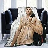 Homedecora Chris Evans Ultra-Soft Micro Fleece Blanket Soft and Warm Flannel Throw Blanket for Children/Adults Xmas Birthday Gift (50' X40')
