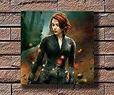 Arter Gedruckte Leinwand Poster Wandbild, Scarlett
