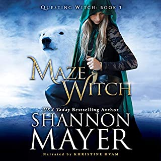 Maze Witch      The Questing Witch Series, Book 3              By:                                                                                                                                 Shannon Mayer                               Narrated by:                                                                                                                                 Khristine Hvam                      Length: 8 hrs and 17 mins     3 ratings     Overall 5.0