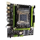 SovelyBoFan Placa Base de Computadora X79, Lga 2011 Pin CPU Ddr3 Server 4 Canales 64Gb de Memoria Placa Base de Juegos de Computadora