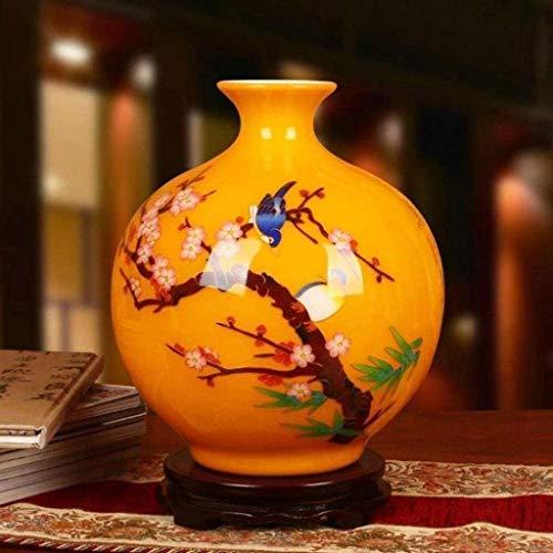 WQQLQX Vases Vases Vase Indispensable Exquisite Decoration F Lowers Home Decorations Wonderful Accent Piece Garden Decorative Touch 30x26cm Home Décor