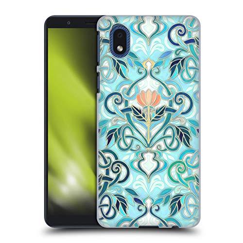 Head Case Designs Ufficiale Micklyn Le Feuvre Oeano Acqua Art Nouveau con Fiori di Pesco Pattern 2 Cover Dura per Parte Posteriore Compatibile con Samsung Galaxy A01 Core (2020)