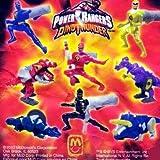 McDonalds - Power Rangers Happy Meal Set - 2003