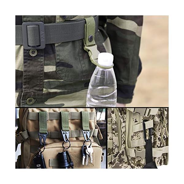 51D9A8KvrZL. SS600  - AivaToba Cinturón Táctico para Hombres Cinturón de Seguridad Cobra Militar Resistente de Nylon con Hebilla Metálica de…