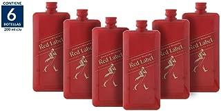 Whisky Johnnie Walker Red Label Pocket Scotch - 200ml / 6 Piezas