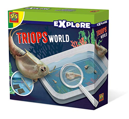 SES Creative-El Mundo de los triops, Multicolor (25113)
