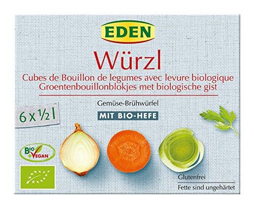 EDEN Würzl-Klare Suppe Nachfüllbeut, 5er Pack (5 x 250 g)