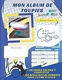 ALBUM TOUPIES Burst Turbo Evolution: Livre en couleurs avec 30 fiches toupies  complter + 150 rsultats de combats choc ultime  noter