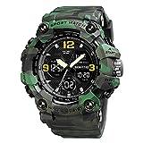 Reloj deportivo militar para hombre, reloj electrónico al aire...