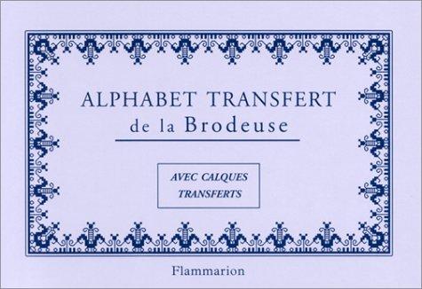 Alphabet transfert de la brodeuse (Loisirs  Bricol)