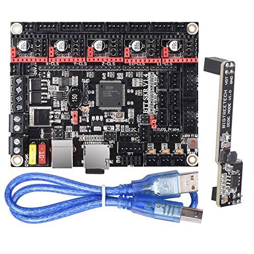 PoPprint BIGTREETECH SKR V1.4 Turbo / Pro Scheda di controllo a 32 bit + DCDCV1.0 Modalità di alimentazione Parti della stampante 3D SKR V1.3 per stampante 3D fai-da-te