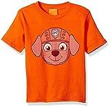 Paw Patrol Kids' Toddler Zuma Big Face Tee, Orange, 4T