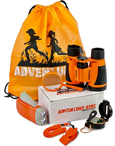 Adventure Kidz - Outdoor Exploration Kit, Children's Toy Binoculars,...