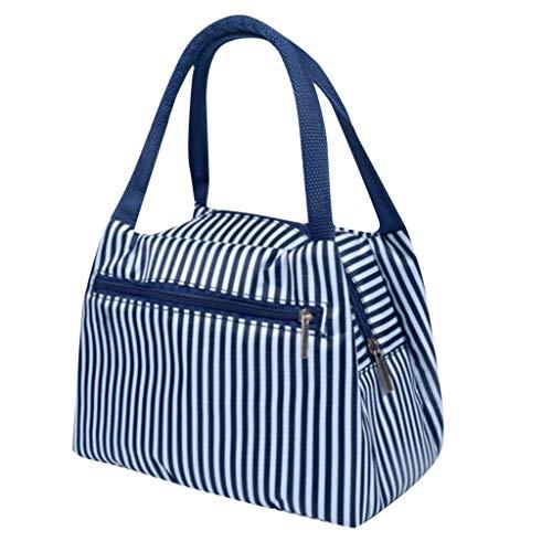 HWTOP Zubehör Lunchtasche Mode Kühltasche Isolierbeutel New Tragbare Wasserdichte Dicke Picknick Lunchbox Lunch Bag für Arbeit Schule Ausflug Office, 3