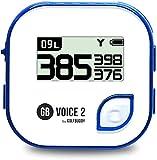 GolfBuddy Sistema GPS de Golf Unisex Voice2, Blanco/Azul, Talla única