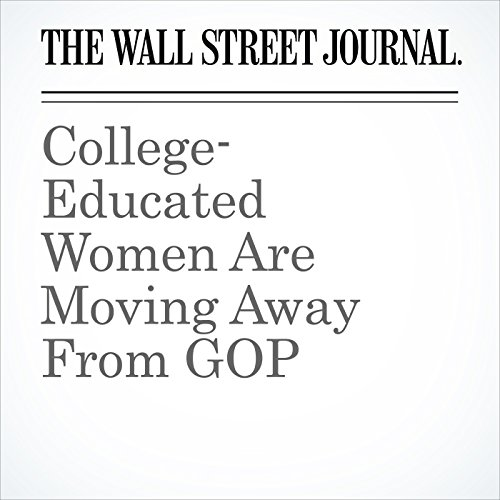College-Educated Women Are Moving Away From GOP audiobook cover art