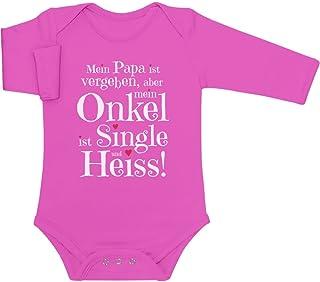 Shirtgeil Geschenke von und für den heissen Onkel Baby Lang