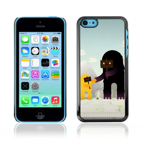 CelebrityCase Polycarbonate Hard Back Case Cover for Apple iPhone 5C ( Cute Monsters )