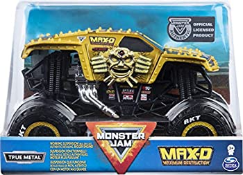 Monster Jam Official Max D Monster Truck Die-Cast Vehicle 1 24 Scale
