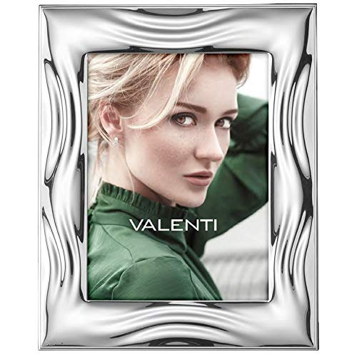 Valenti 10402 5L Cornice Portafoto Lucida Onde cm 18 x 24