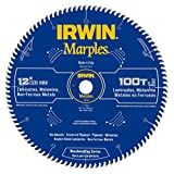 IRWIN Marples 12-Inch Miter Saw Blade, 100-Tooth (1807386)