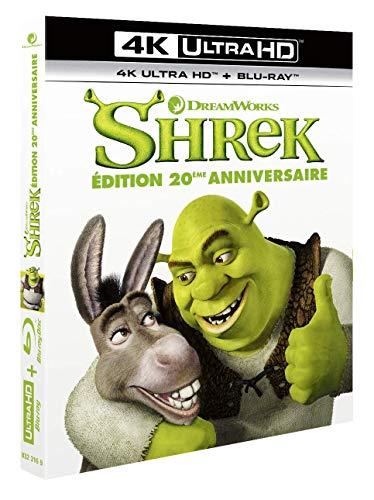 Shrek [4K Ultra HD + Blu-ray-20ème Anniversaire]