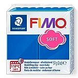 FIMO - Pasta de modelar, color azul pacifico, 56 gr (8020-37 ST)