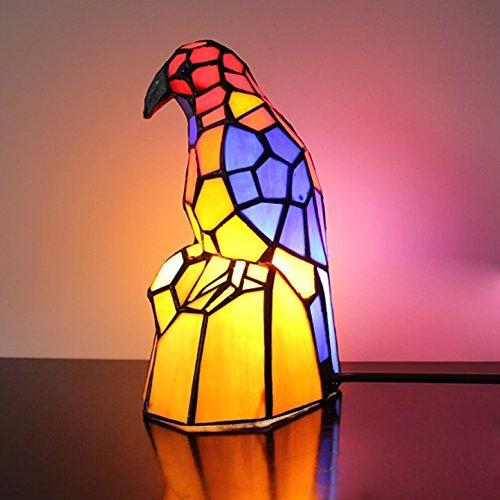 Retro Little Bird avec lampe de table à souche d'arbre Lampe de nuit pour enfants Lampe de nuit