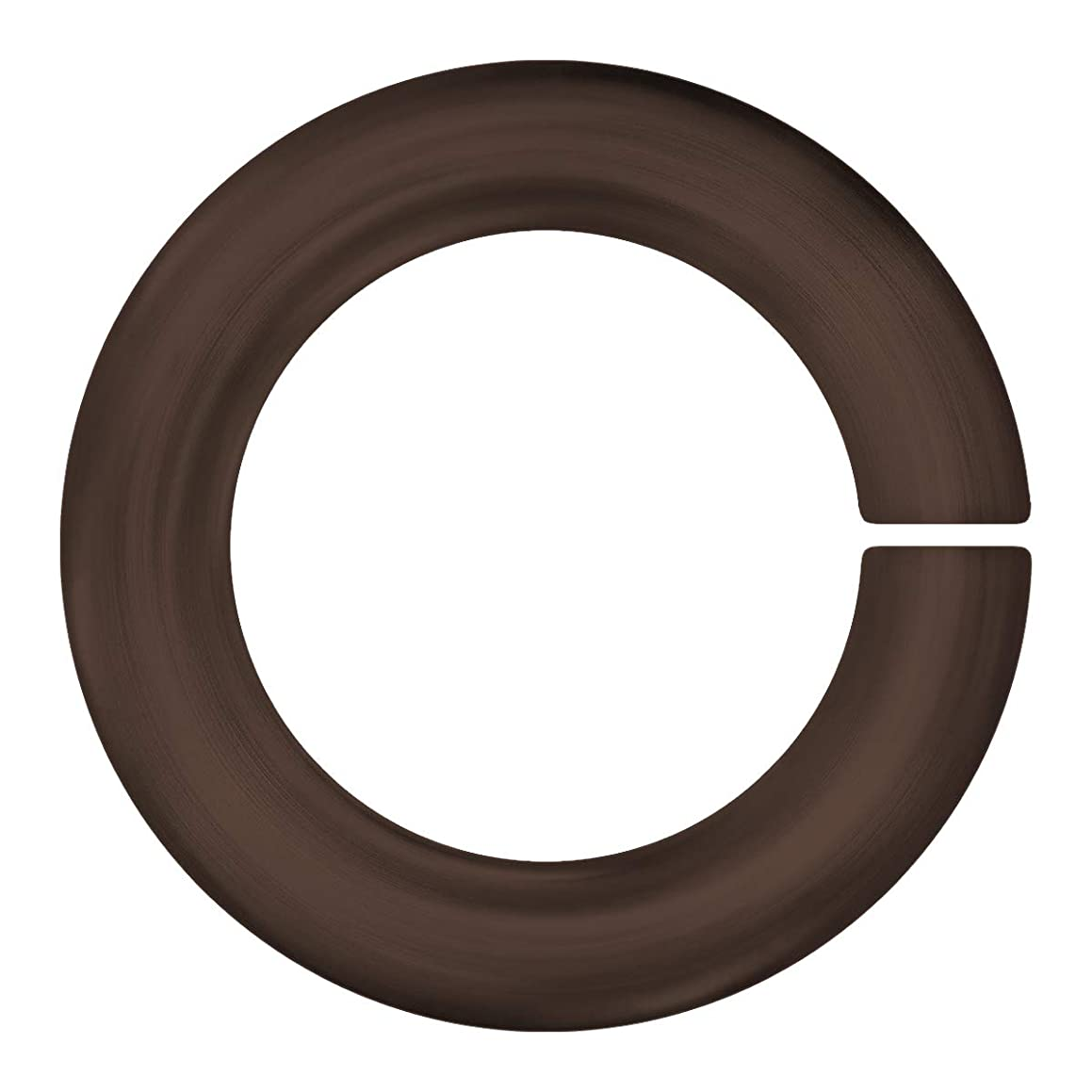 Weave Got Maille Chocolate 18-Gauge 4mm ID Anodized Aluminum Jump Rings - 1 Ounce