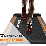 CITYSPORTS Folding <span class='highlight'><span class='highlight'>Treadmill</span></span>, Office/Home Fitness, 1-6 km/h Electric Walking Machine, Easy to Move and Store, Quiet and Comfortable Gym