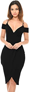 AX Paris Women's Women's Wrap Over Dress
